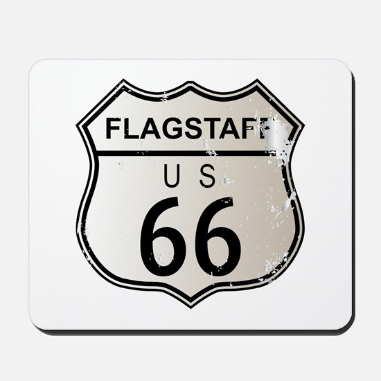 Flagstaff Route 66 Mousepad