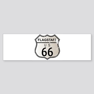Flagstaff Route 66 Bumper Sticker