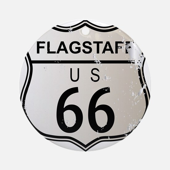 Flagstaff Route 66 Round Ornament