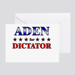ADEN for dictator Greeting Card