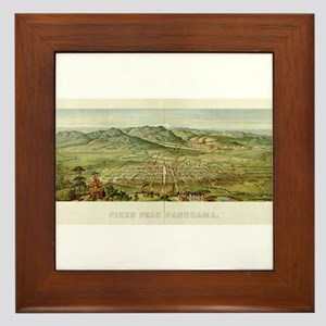 Pikes Peak Framed Tile