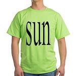309.SUN Green T-Shirt
