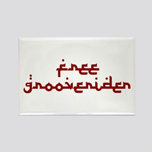 Free Grooverider Rectangle Magnet