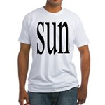 309.SUN Fitted T-Shirt