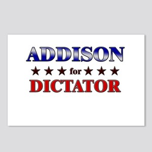 ADDISON for dictator Postcards (Package of 8)