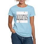 309. aquarius. .  Women's Pink T-Shirt