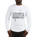 309. aquarius. .  Long Sleeve T-Shirt