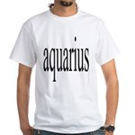309. aquarius. . White T-Shirt