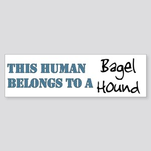 This Human Belongs To Bumper Sticker