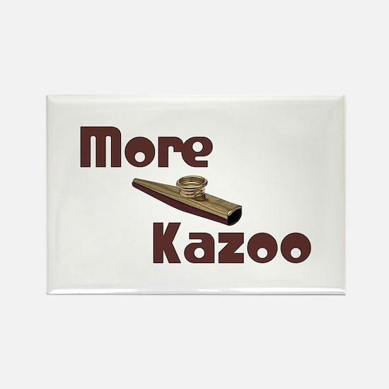 More Kazoo Rectangle Magnet