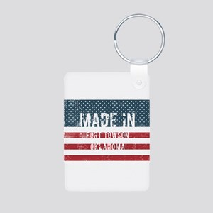 Made in Fort Towson, Oklahoma Keychains