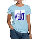 310. water. .  Women's Pink T-Shirt