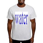 310. water. .  Ash Grey T-Shirt