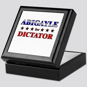 ABIGAYLE for dictator Keepsake Box