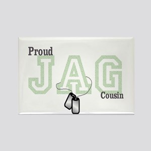 jag cousin Rectangle Magnet