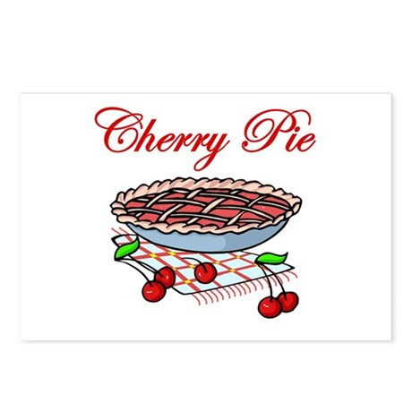 Cherry Pie Postcards (Package of 8)