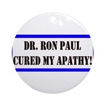 Ron Paul cure-1 Ornament (Round)