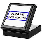 Ron Paul cure-1 Keepsake Box