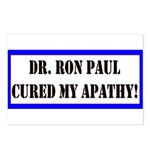 Ron Paul cure-1 Postcards (Package of 8)