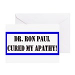 Ron Paul cure-1 Greeting Card