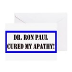 Ron Paul cure-1 Greeting Cards (Pk of 20)