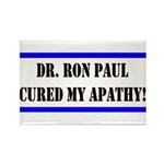 Ron Paul cure-1 Rectangle Magnet