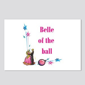 Belle of the Ball Postcards (Package of 8)