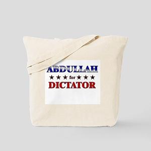ABDULLAH for dictator Tote Bag