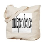 321. independence. .  Tote Bag