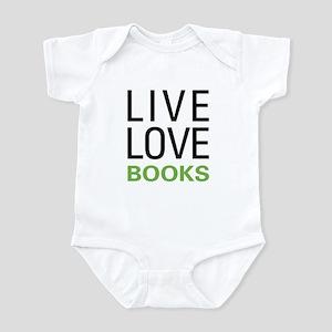 Live Love Books Infant Bodysuit