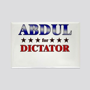 ABDUL for dictator Rectangle Magnet