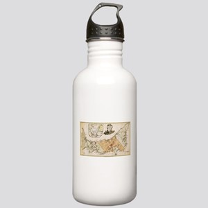 Vintage Map of Prince Stainless Water Bottle 1.0L