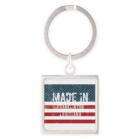 Made in Franklinton, Louisiana Keychains