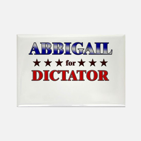 ABBIGAIL for dictator Rectangle Magnet