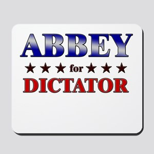 ABBEY for dictator Mousepad