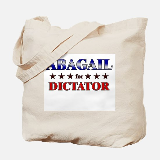 ABAGAIL for dictator Tote Bag