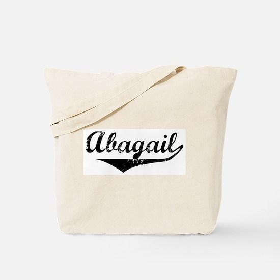 Abagail Vintage (Black) Tote Bag