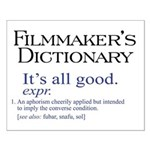 Film Dictionary: All Good! Small Poster