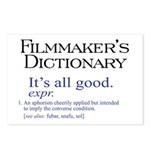 Film Dictionary: All Good! Postcards (Package of 8