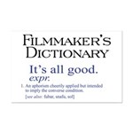 Film Dictionary: All Good! Mini Poster Print