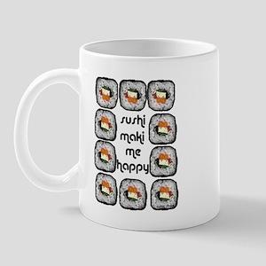 Sushi Maki Me Happy Mug