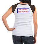 Ron Paul cure-4 Women's Cap Sleeve T-Shirt