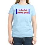 Ron Paul cure-4 Women's Light T-Shirt