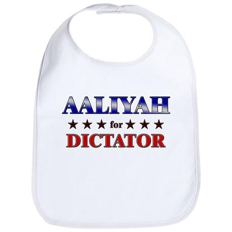 AALIYAH for dictator Bib