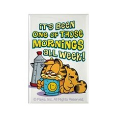 One Of Those Mornings Rectangle Magnet (100 Pack)
