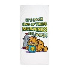 One Of Those Mornings Beach Towel