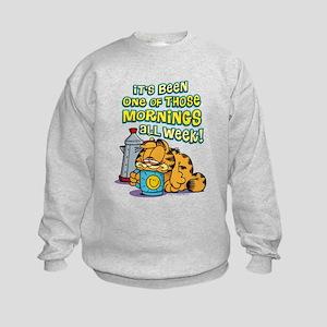 One of Those Mornings Kids Sweatshirt