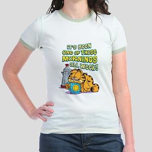 One of Those Mornings Jr. Ringer T-Shirt