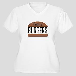 Custom Burgers Plus Size T-Shirt