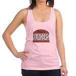 Custom Burgers Racerback Tank Top